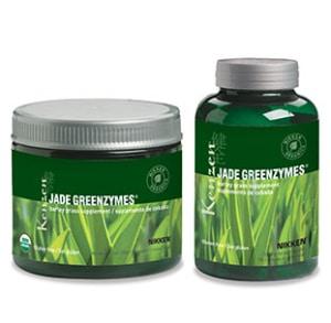 barley grass pulver or capsule
